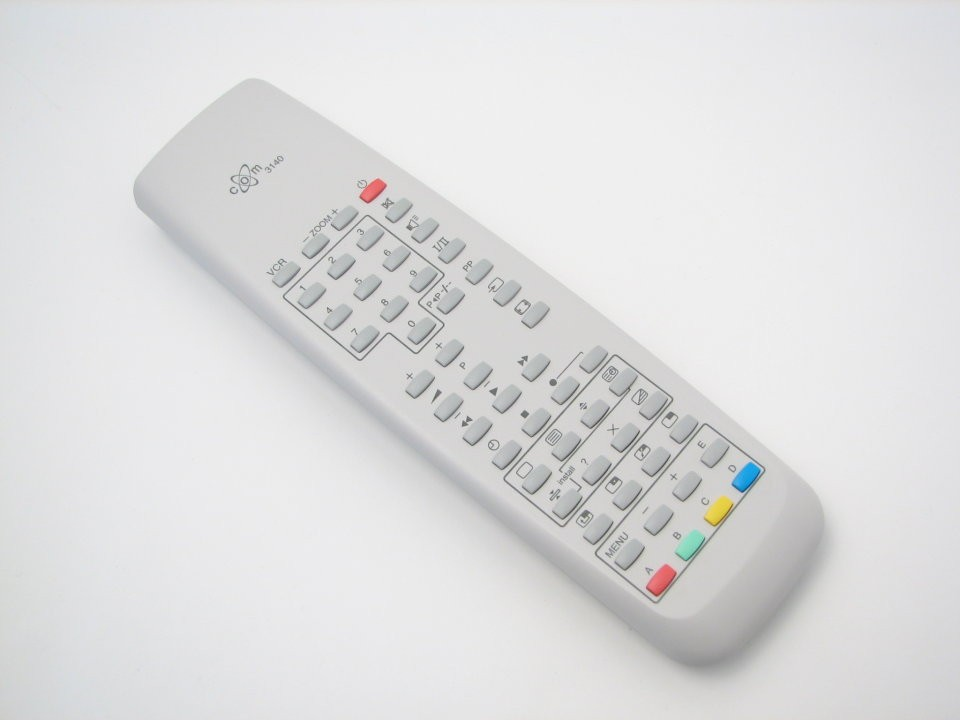 Image of   Fjernbetjening, erstatning for Philips TV, COM3140