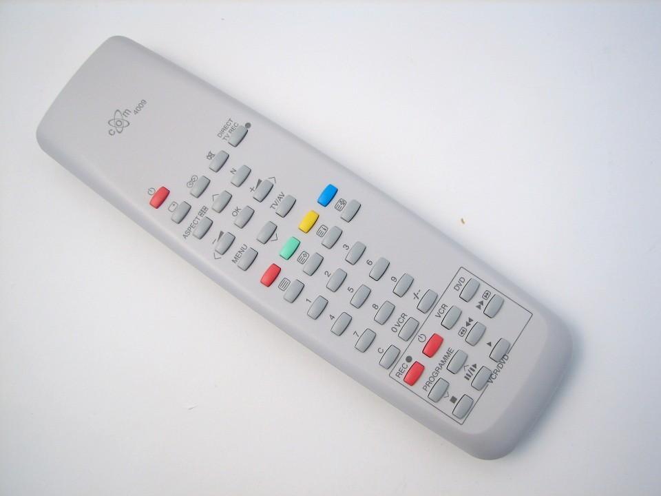 Image of   Panasonic fjernbetjening, erstatning, COM4009