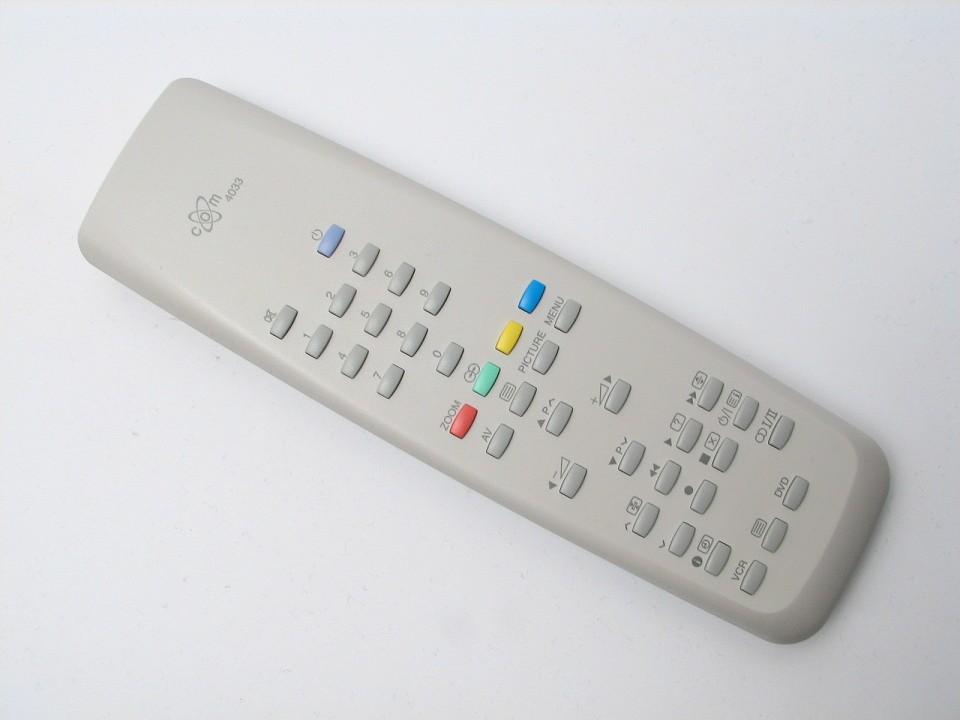 Image of   Fjernbetjening, erstatning, COM4033
