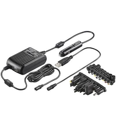 Strømforsyning til laptop PC, 12V, Vanson SDR100W - Universal til laptop PC'er - Billigst på ...