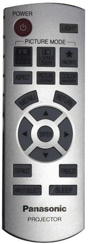 Image of   Panasonic fjenbetjening, original, N2QAYB000064