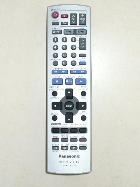 Image of   Panasonic fjernbetjening, original, EUR7720X30