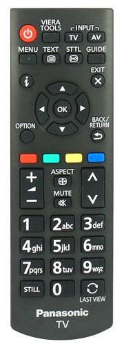 Image of   Panasonic fjernbetjening, original, N2QAYB000815