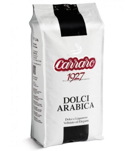 Image of   Carraro Kaffebønner, Dolci Arabica, 1kg