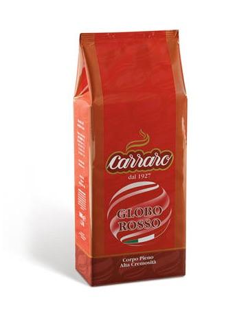 Image of   Carraro Kaffebønner, Globo Rosso, 1kg