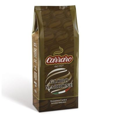 Image of   Carraro Kaffebønner, Globo Marrone, 1kg