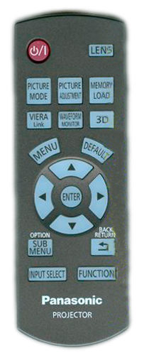Image of   Panasonic fjernbetjening, original, N2QAYB000680