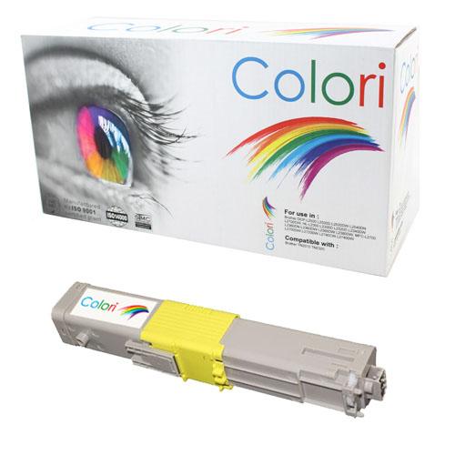 Printer Toner, OKI, C310 C330 C510 C530, Gul