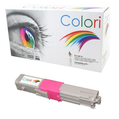 Printer toner, OKI, C310 C330 C510 C530 Magenta