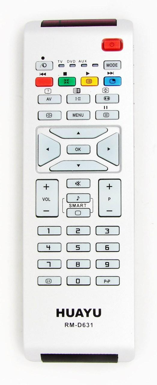 Image of   Fjernbetjening, kopi, Philips RC1683701 / RC1683706