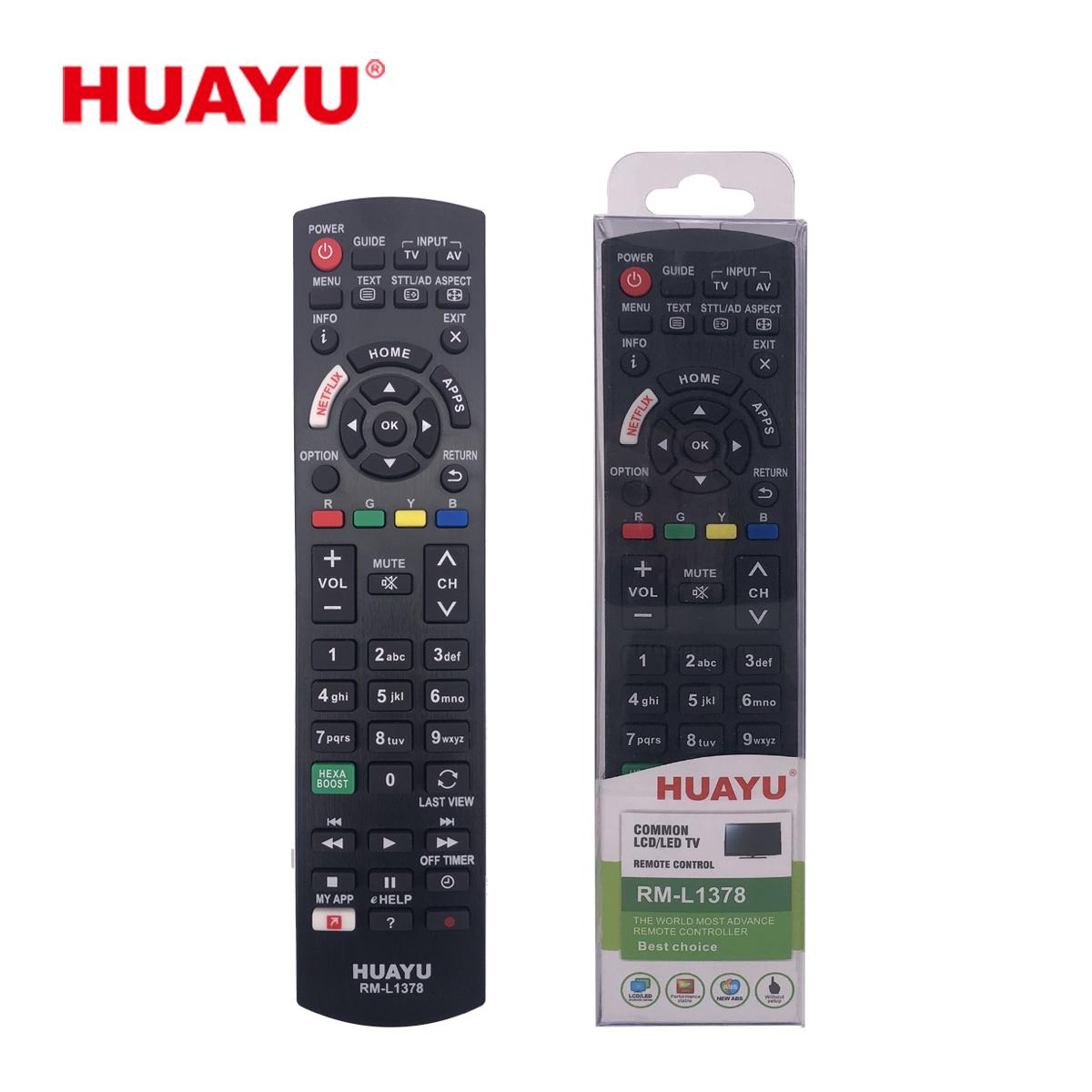 Image of   Panasonic fjernbetjening, kopi Huayu RM-L1378