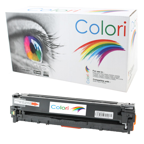 Image of   Printer Toner, HP, 125A 128A Cb540A Ce320A Canon 716 Sort