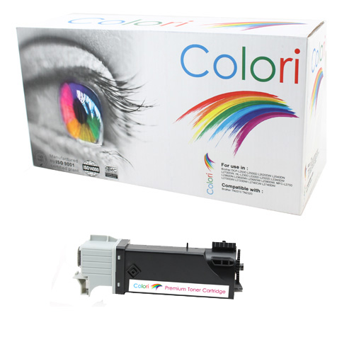 Printer Toner, Dell, 1320 2130 2135 Sort