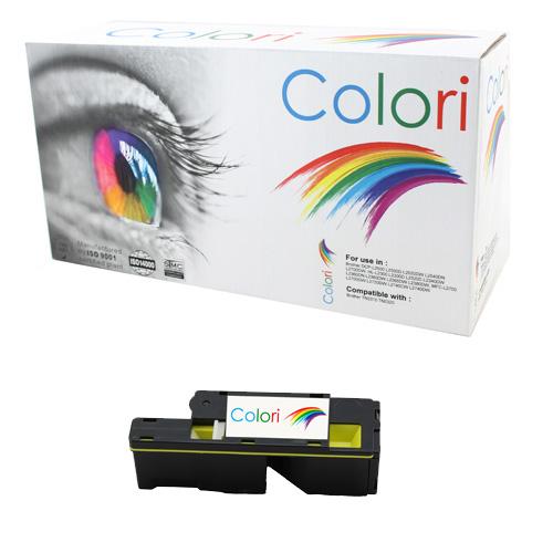 Printer Toner, Dell, Dell C1660W Gul