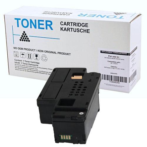 Printer Toner, Dell, E525 E525w Sort