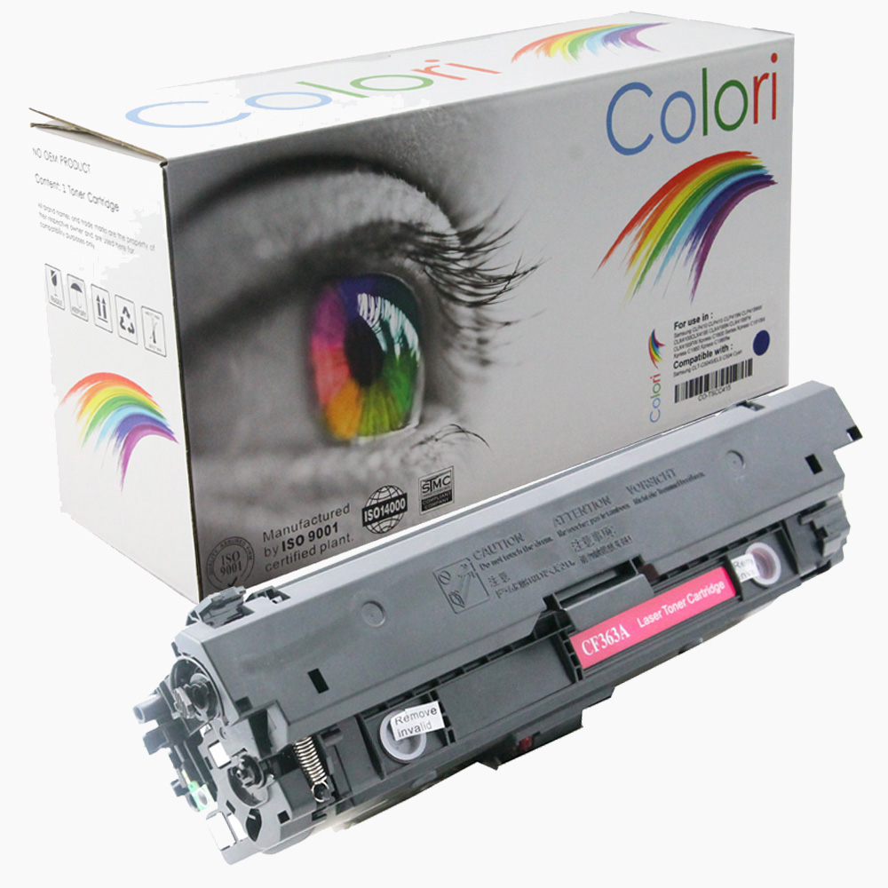 Image of   Printer Toner, HP, 508A CF363A 508X CF363X Magenta