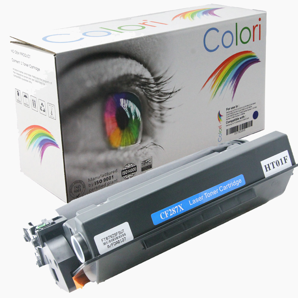 Image of   Printer Toner, HP, 87X CF287X Laserjet M506 M527