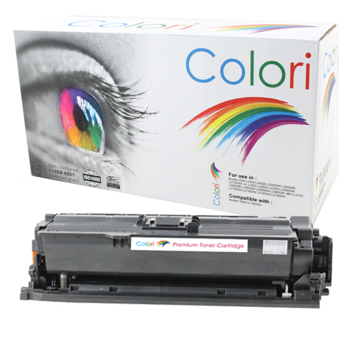 Image of   Printer Toner, HP, 504X Ce250X Laserjet Cp3525 Sort