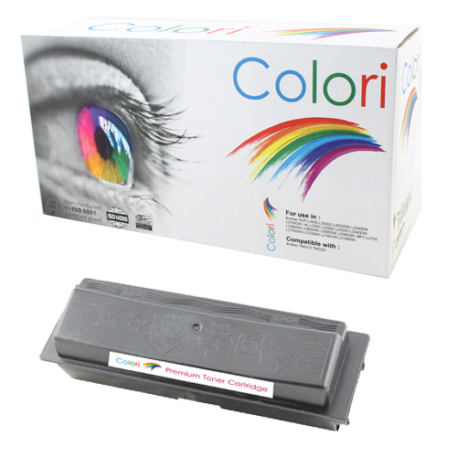 Printer Toner, Kyocera, TK130 Fs1300, sort