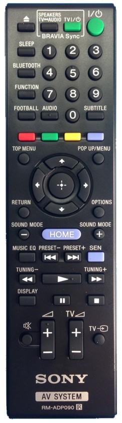 Image of   Fjernbetjening, original, Sony RMADP090